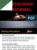 Persalinan Abnormal