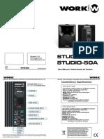 Work Studio 50A 50A Manual