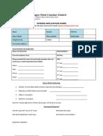 Stipend Application Form