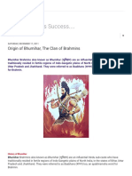 A Step Towards Success_ Origin of Bhumihar, The Clan of Brahmins