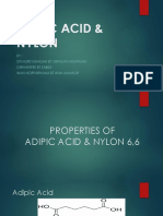 Adipic Acid & Nylon