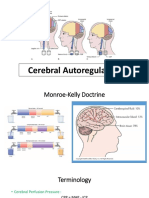 Autoregulation of Cerebral Perfusion Pressure