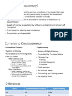 Currency to Cryptocurrency