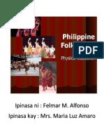Filipino Folk Dance