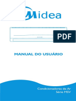 Manual Midea Split Hi Wall