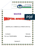 Arbitrajul Comercial International 2