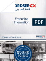 NORDSEE Franchise Information