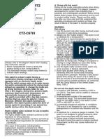 Caliber Citizen Instruction Manual c500