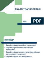 Perencanaan Transportasi (semseter 5 )