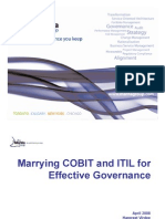 Microsoft Power Point Marrying Cobit and Itil for Effective 1299