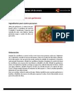 Las Recetas de La Pera Limonera_2013!01!14 Al 18 Enero
