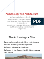 Archaeology and Architecture