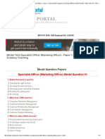 (Model Test) Specialist Officer (Marketing Officer) - Paper 1, 2013 by BSC Academy Coaching _ BANK EXAM PORTAL _ IBPS, SBI, PO, Clerk, IPPB, Bank Jobs Aspirants Community_.pdf