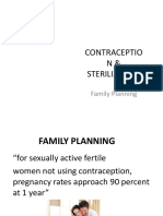 Contraception Sterilization