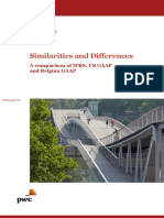 Similarities and Differences Ifrs Us Be GAAP