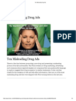 Forbes_Ten Misleading Drug Ads