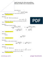 analyse s1 math