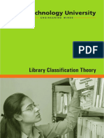 Library Classification Theory