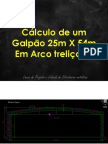 Cálculo de Galpão Em Arco 1