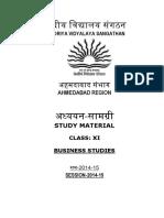 Business Studies XI