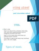 Spring Steel 1