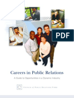 Career_guide of Public Relations