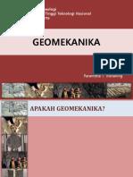 2. Geomekanika