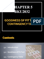 Chapter 5 Goodness of Fit and Contingency Table