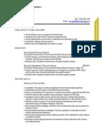 Combination Resume - Sample 2