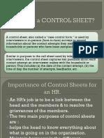 HR CONTROL SHEET.ppt