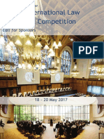 Sponsor Package Telders Competition 2017 40th Edition