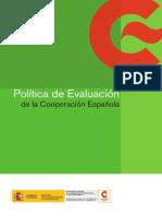 Politica de Evaluacion