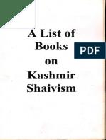 00 -A-List-of-Books-on-Kashmir-Shaivism-IAT.pdf