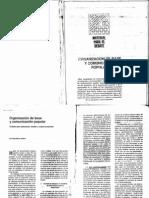 Alfaro - Organizacion de Base y Comunicacion Popular