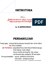 A. Hortikutura (II)