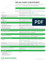 JupyterLab Notebook Cheatsheet