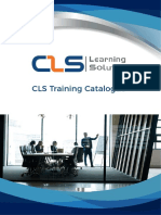 CLS Training Catalogue and 2018 Training Calendar Opt