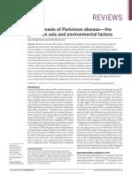 Patogénesis del Parkinson