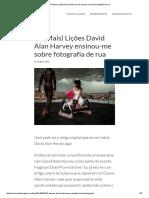 15 (Mais) Lições David Alan Harvey ensinou-me sobre fotografia de rua