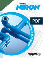 NIRON - Catalogue Technique 2016