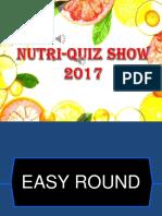 Nutri-quiz Show 2017