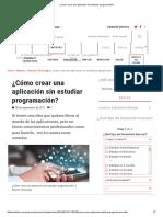 ¿Cómo crear una aplicación sin estudiar programación_.pdf