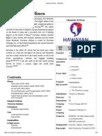 Hawaiian Airlines - Wikipedia