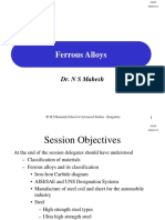 Session-4 and 5 Ferrous Alloys
