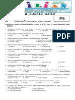 Soal IPS Kelas 6 SD BAB Gejala Alam Di Indonesia Dan Negara Tetangga