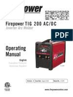 Firepower Tig 200 Acdc Inverter Arc Welder 0-5370_ac