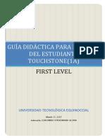 Guía Primer Nivel (1A) Abr.-ago.2017