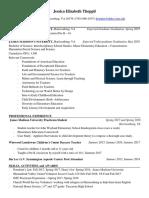 jessica thoppils updated resume