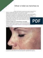 Como identificar e tratar as manchas na pele.docx