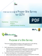 Site Survey Cctv